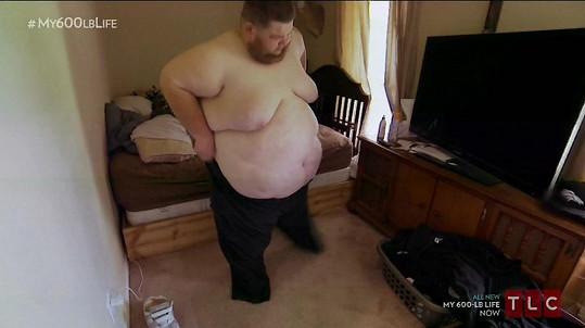 Kvůli nadváze jej opustily dvě ženy.