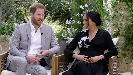 Že to bude holčička, oznámili během slavného interview s Oprah Winfrey.