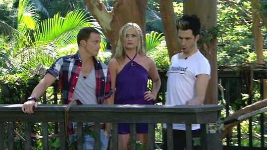 Laura jako moderátorka pořadu I'm a Celebrity...Get Me Out of Here!