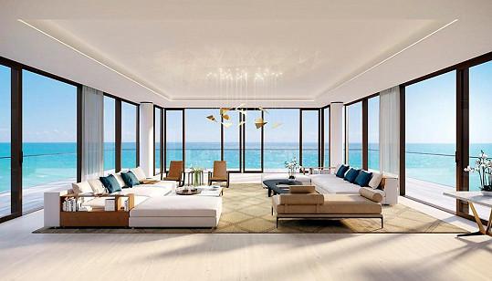 Velkolepé obývací prostory