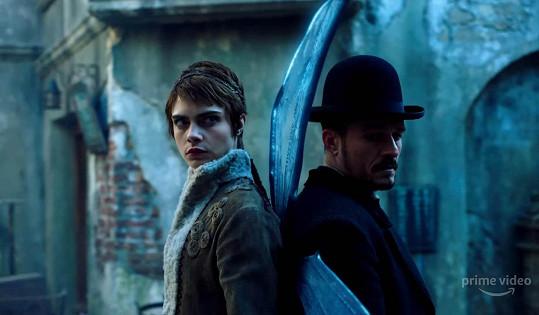 V Česku se natáčí seriál Carnival Row s Orlandem Bloomem a Carou Delevingne. Malou roličku v seriálu bude mít i syn Terezy Maxové.