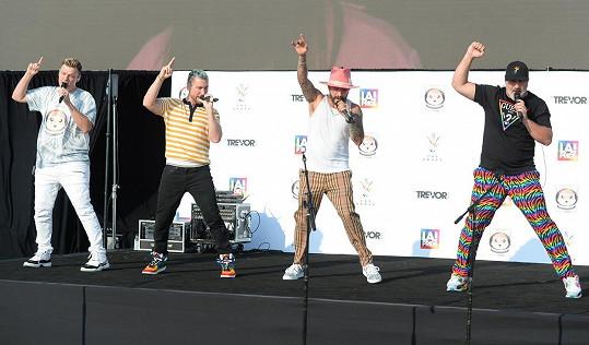 Společně už vystoupili s hity obou skupin na akci v rámci oslav Pride.
