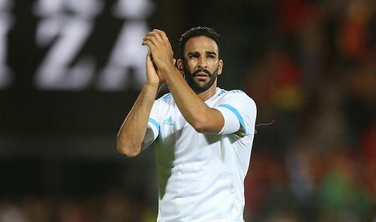 Adil Rami, obránce týmu Olympique de Marseille