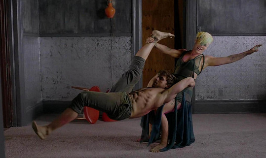 S Pink Colt předvedl fyzicky velmi náročný tanec.