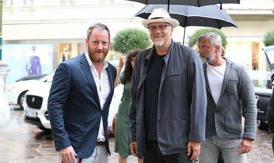 Tima Robbinse v Karlových Varech přivítal Kryštof Mucha.
