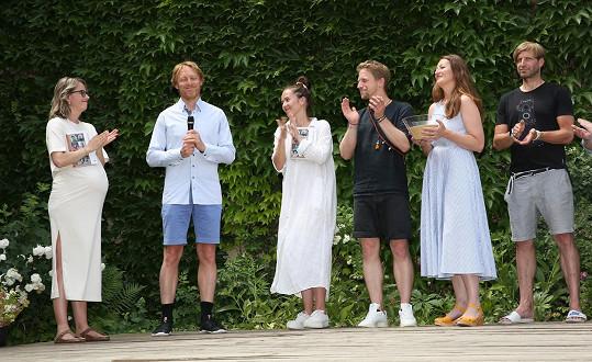 Manželé společně pokřtili knihu Laskavci od autorky Dominiky Trčkové.