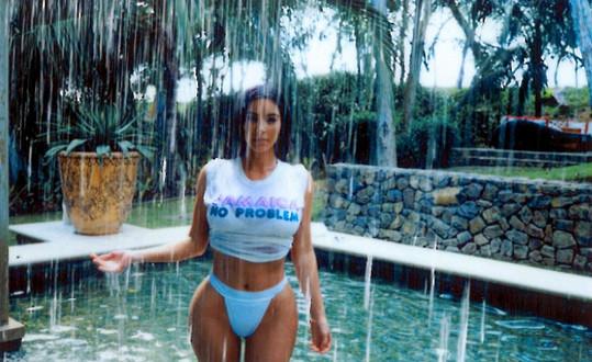 Kim na dovolené na Jamajce