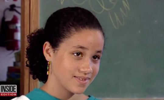 Meghan Markle jako malá holčička