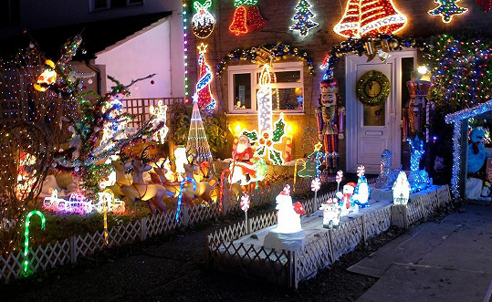 A tohle je prý nejnazdobenější dům v Hertfordshiru.