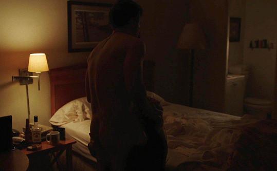 Herečka si střihla erotickou scénu.