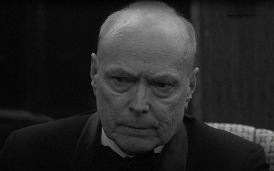 George Gerdes jako Dwight Eisenhower ve svém posledním filmu The 11th Green (2020)