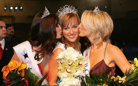 Renata Langmannová v době, kdy vyhrála Českou Miss (2006).