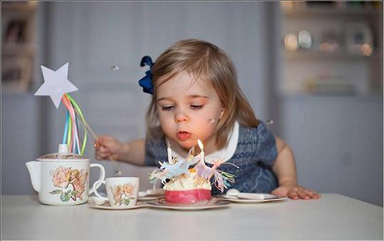 Leonore si oslavu užila.