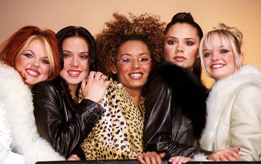 Mel B (uprostřed) v době největší slávy Spice Girls