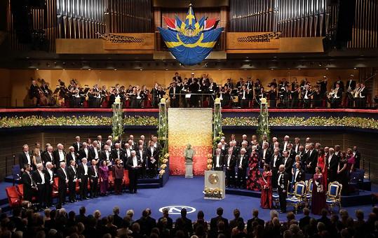 Slavnostní ceremoniál Nobelových cen je ve Švédsku jednou z nejvýznamnějších událostí roku.