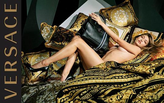 Gigi jako nová tvář značky Versace