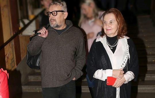 Eva Holubová s manželem Miroslavem