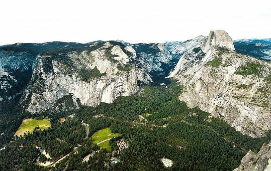 Místo exotiky zvolili raději národní parky v Kalifornii.