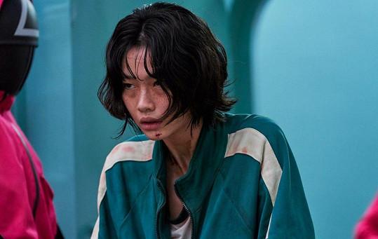 HoYeon Jung ztvárnila Kang Sae-byeok ve Hře na oliheň.