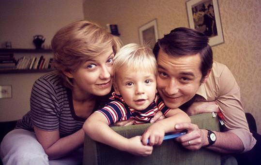 Jana a Viktor Preissovi se synem Martinem