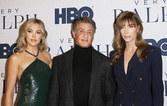 Sylvester Stallone s manželkou Jennifer Flavin.