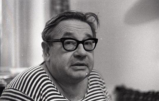 Josef Hlinomaz patřil k osobitým českým hercům.