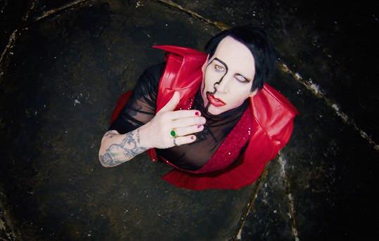 Marilyn Manson do svého klipu angažoval hollywoodskou hvězdu.
