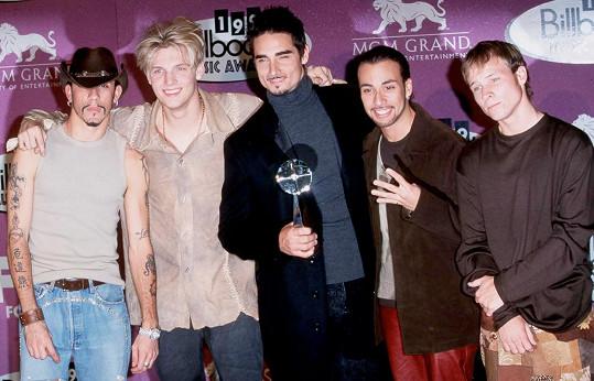 Backstreet Boys v době největší slávy