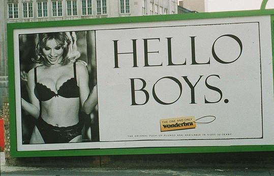 Připomeňme si i její slavnou kampaň z roku 1994, která Herzigovou katapultovala mezi modelingové hvězdy.