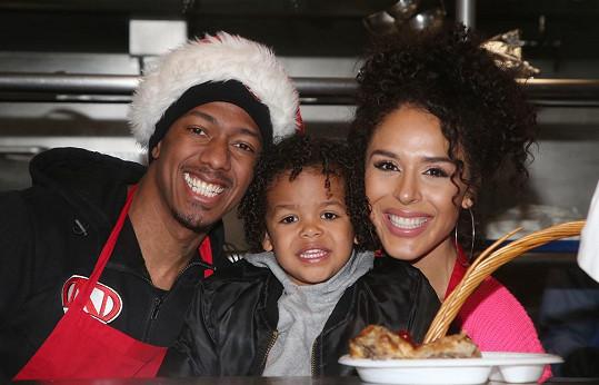 Ve vztahu s Brittany Bell se mu narodil syn Golden (na snímku) a dcera Powerful Queen.