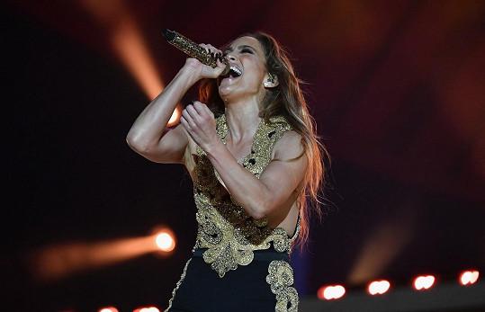 Jennifer o víkendu koncertovala v Central Parku.