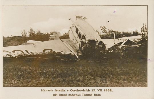 Neštěstí se stalo 12. července 1932.