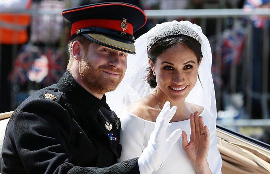 Princ Harry a Meghan Markle se brali v roce 2018 a letos se dostali mezi 100 nejvlivnějších osobností podle časopisu TIME.