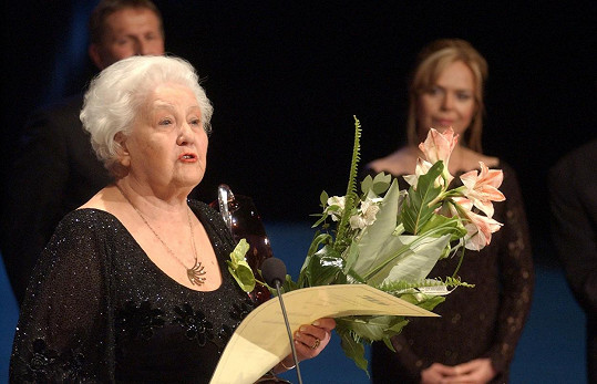 Antonie Hegerlíková se proslavila jako maminka hlavního hrdiny v seriálu F. L. Věk