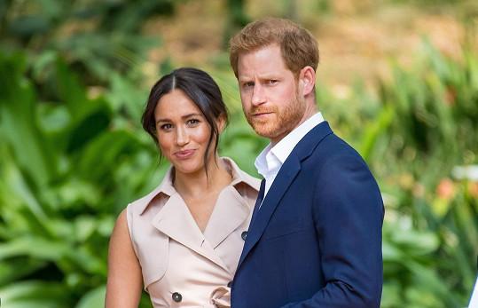 Harry s manželkou Meghan Markle