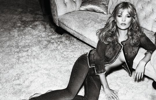 Kate Moss patří k nejslavnějším světovým modelkám.