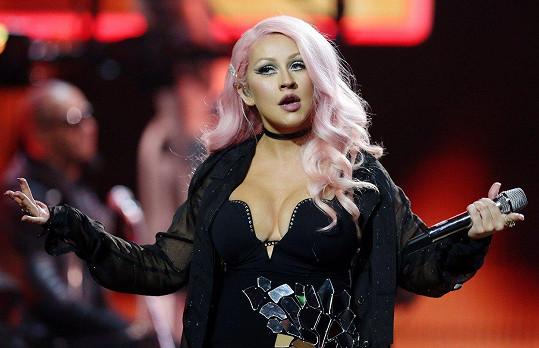 Christina Aguilera v prosinci roku 2016
