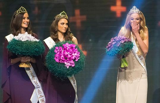 Dvacetiletá dívka z Banské Bystrice zíkala i titul Miss Sympatie.