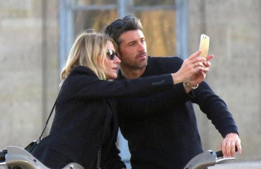 Došlo i na zamilovanou selfie...