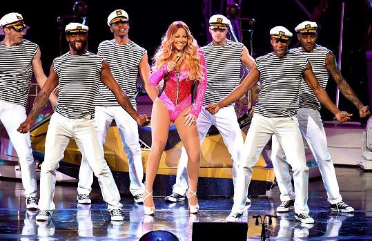 Mariah Carey tento týden v Las Vegas