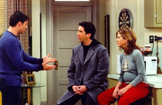 """""""Proč to nazvali Přátelé, mohli to nazvat 'Dobrodružství bradavek Rachel Green',"""" poznamenala na sociální síti jedna z divaček."""