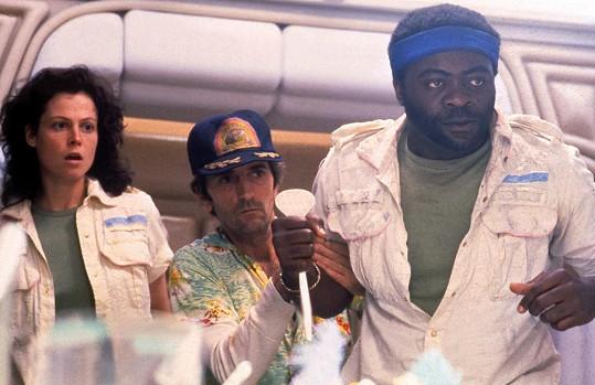 Sigourney Weaver, Harry Dean Stanton a Yaphet Kotto ve filmu Vetřelec
