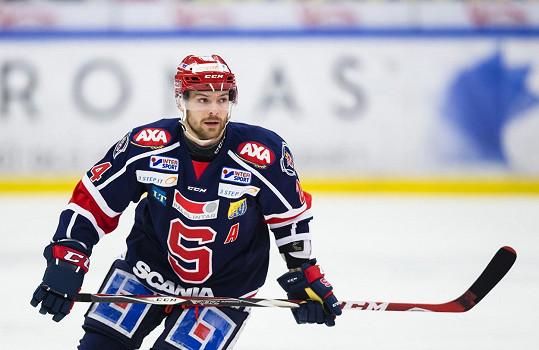 Michal Gulaši na ledě.