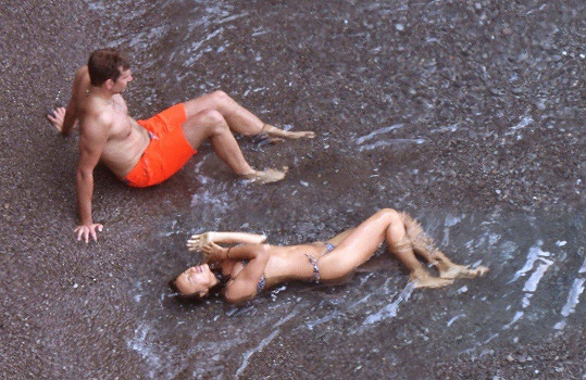 Irina Shayk a Bradley Cooper si užívají na dovolené.