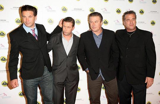 William, Stephen, Alec a Daniel (zleva) na fotce z roku 2010