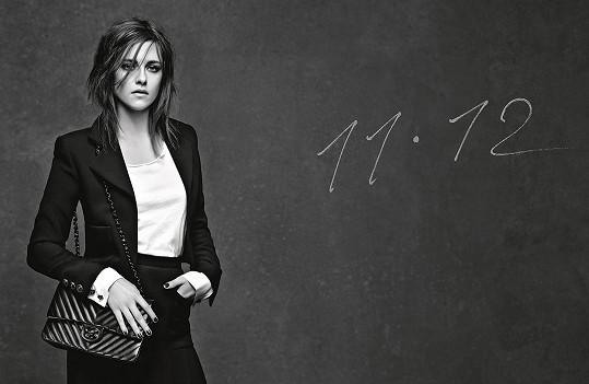 Kristen Stewart v nové kampani Chanel
