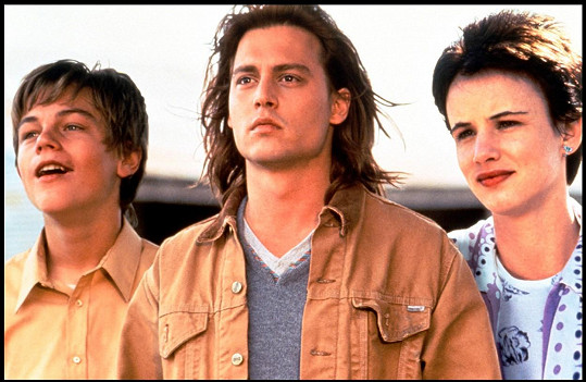 Leonardo DiCaprio, Johnny Depp a Juliette Lewis ve filmu Co žere Gilberta Grapea (1993)
