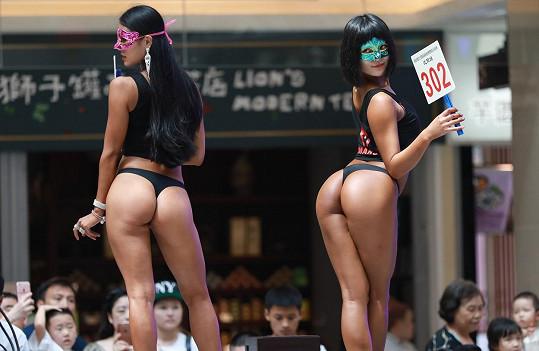 A teď po vzoru brazilské Miss Bum Bum volí čínskou majitelku nejhezčího zadečku.