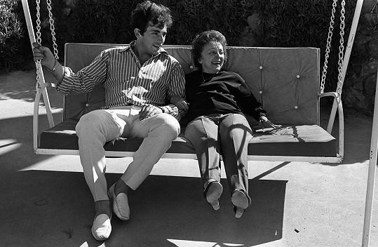 Théo Sarapo a Edith Piaf dělilo dvacet let.