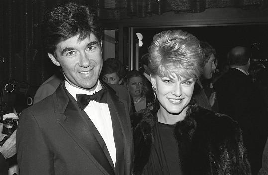 Alan Thicke s první manželkou Glorií Loring (1983)